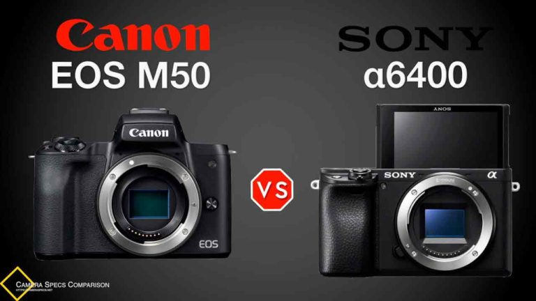 Canon-EOS-M50-vs-Sony-a6400-Camera-Specs-Comparison-Featured-Image