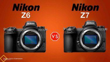 Nikon Z6 vs Nikon Z7 Camera Specs Comparison