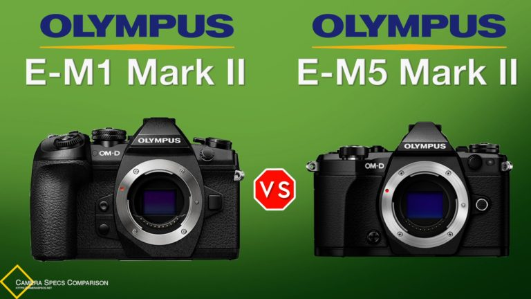 Olympus OM-D E-M1 Mark II vs Olympus OM-D E-M5 Mark II