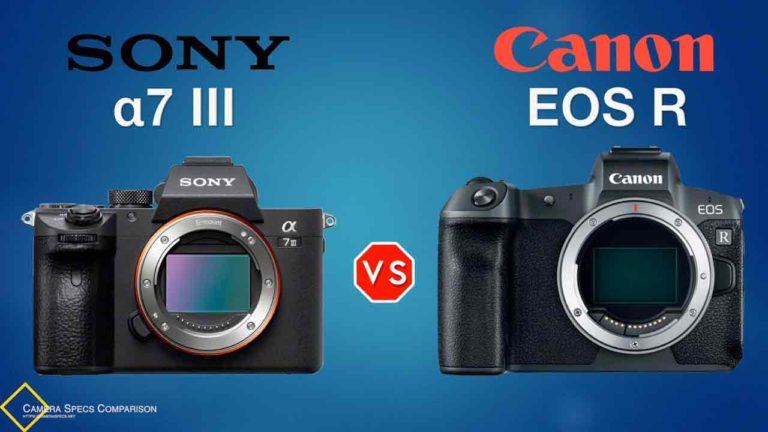 Sony-a7III-vs-Canon-EOS-R-Camera-Specs-Comparison-Featured-Image